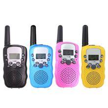 1 пара, Детская портативная рация, игра для родителей, мобильный телефон, говорящая игрушка 3-5 км, диапазон для детей