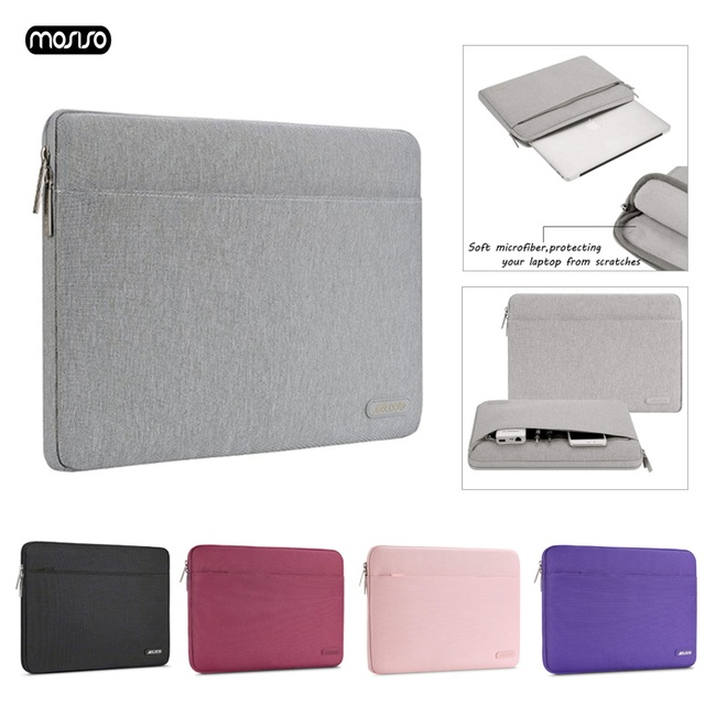 MOSISO Laptop Sleeve Notebook Bag Pouch Case for Macbook Air 11 13 12 14 15 13.3 15.4 15.6 for Lenovo ASUS/Surface Pro 3 Pro 4