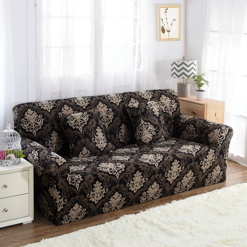 No Rooms Colorful Furniture: Dreamworld Floral Sofa Cover Spandex Colorful Covers For
