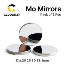 3 шт. молибденовое зеркало Диаметр 15 19,05 20 25 30 38,1 мм Толщина 3 мм для CO2 лазерная резка, гравировальный станок