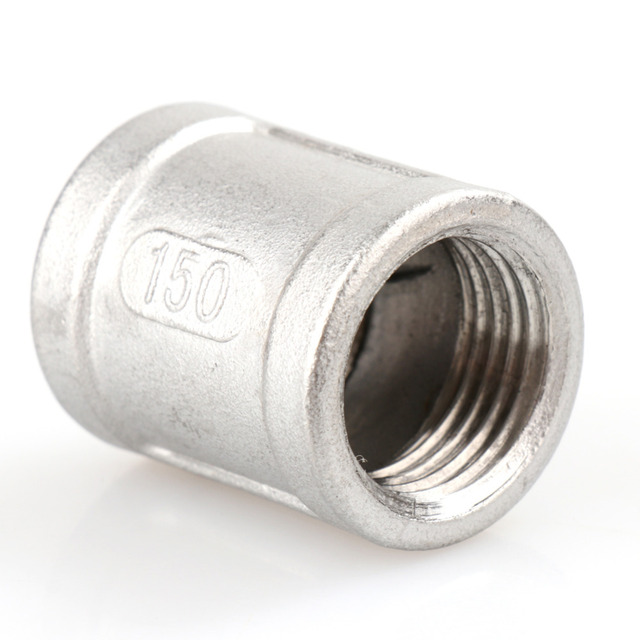1 pc New Nipple 1/2  female 1/2  304 Stainless Steel threaded coupling Pipe Fitting NPT-in Pipe Fittings from Home Improvement on Aliexpress.com   Alibaba ...  sc 1 st  AliExpress.com & 1 pc New Nipple 1/2