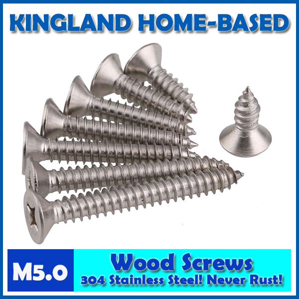 GB846 M5 Cross Recessed Phillips Countersunk Flat Head Self-tapping Wood Screws For Laptop 304 Stainless Steel LD009 40pcs 304 stainless steel countersunk head tapping screws countersunk head self tapping screw m3 5 20 gb846