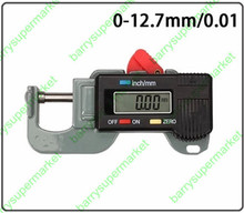 On sale High quality Digital Thickness Gauge Meter Tester thickness Caliper gauge Micrometer leather thickness meter 0~12.7mm