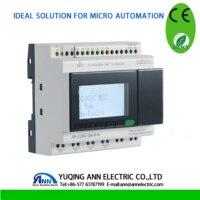PR 12DC DA R N with LCD, without cable, DC 24V,4 DI/AI+4DI,4DO,mini PLC,programmable logic controller,PLC,smart relay
