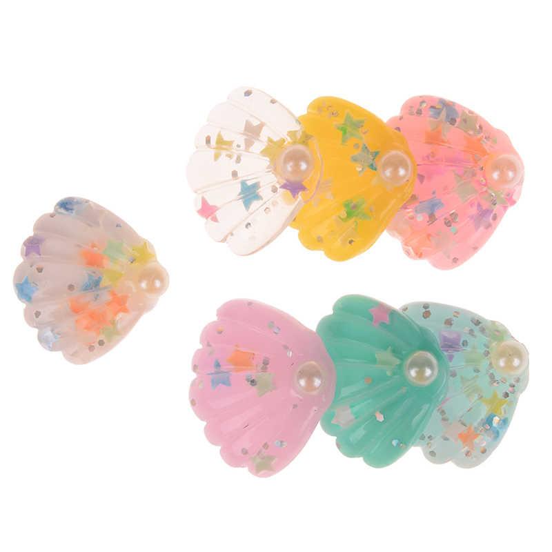 5/6 Pcs Mini Hewan Laut Ikan Shell Miniatur Taman Dekorasi Rumah Rumah Dekorasi Kerajinan DIY Aksesoris