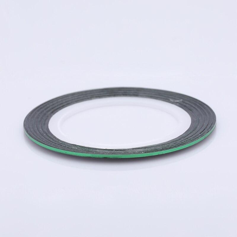 2 мм матовый блеск для ногтей, Чередование ленты линия разноцветные, для ногтей инструмент для укладки волос Стикеры наклейка DIY украшения для ногтей - Цвет: 19