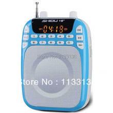 Envío Apresurado Oferta Especial Libre Shidu S368 Altavoz con Micrófono Amplificador de Voz Booster Megáfono Altavoz Guía de Ventas