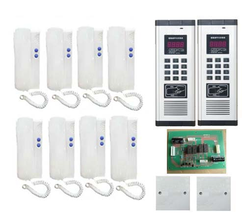 id Card Unlock Bright In Colour Smtvdp Press Direct Dialing Non-visual Building Intercom System.for 2 Gates 8-apartments Audio Door Phone Back To Search Resultssecurity & Protection Audio Intercom
