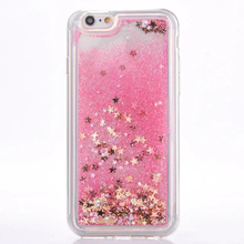 Pink Glitter Dynamic Liquid Cover For OPPO F5 Crystal TPU Case For OPPO A31  A33 A37 fe3c5bdeca4b