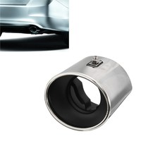 Chrome Car Stainless Steel Exhaust Tail Muffler Tip Oval Pipe For Honda For Accord 2008 2009