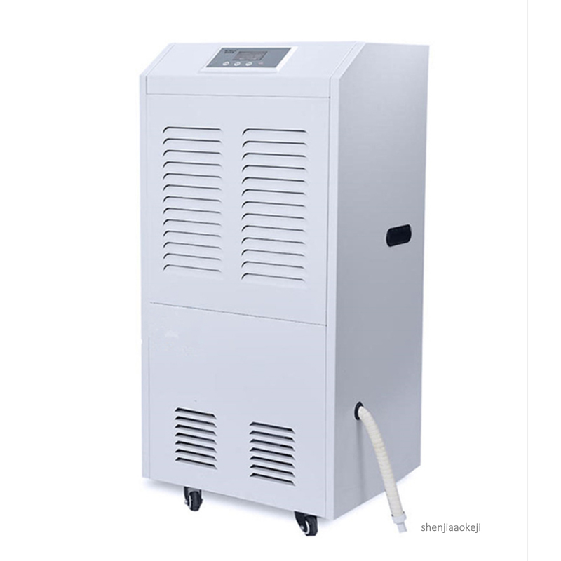 138L/day Industrial Intelligent dehumidifier electric air dryer air dehumidifier commercial large area dehumidifier KJ-8138C