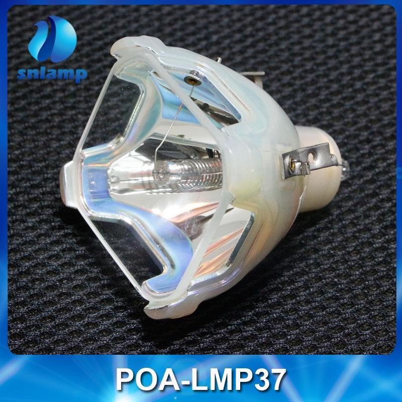 Original Projector Lamp Bulb POA-LMP37 for PLC-20/PLC-S20/PLC-SW20/PLC-20A/PLC-S20A/PLC-XW20/PLC-SW20A original projector lamp poa lmp136 for plc xm150 plc xm150l plc wm5000 plc zm5000