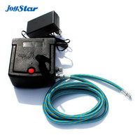 New airbrush compressor Complete kit With Cleaning Brush for toy Hobby models Tattoo makeup Spraying Free shipping