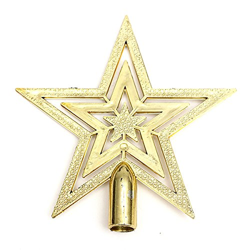 Christmas decorations for home Hanging ornament star for Summit fir Christmas tree Court christmas decorations for family