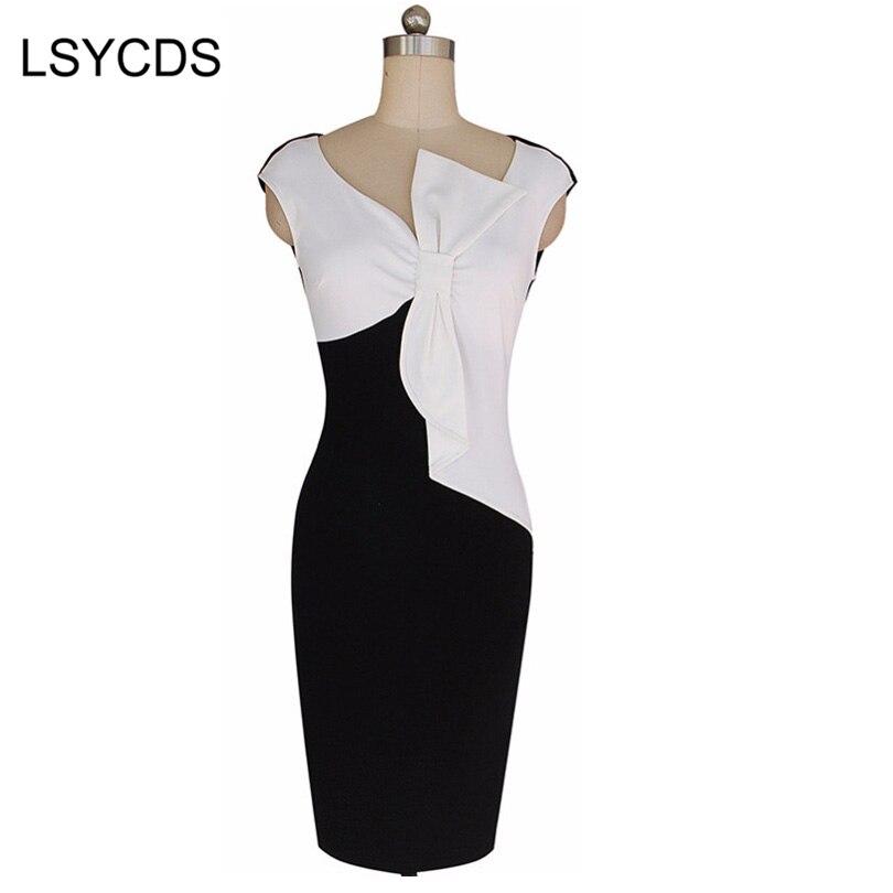 75661e021 المرأة الصيف اللباس 2018 السيدات أكمام المرقعة المدرج فساتين أزياء حزب  vestidos vestido دي فيستا W338 moulante