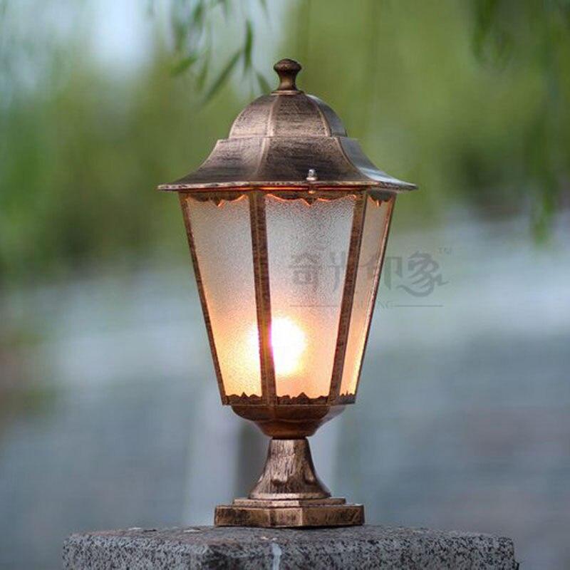 Luci della porta lampada capitello colonna esterna luce del giardino di paesaggio lampade WCS-OCL0031Luci della porta lampada capitello colonna esterna luce del giardino di paesaggio lampade WCS-OCL0031