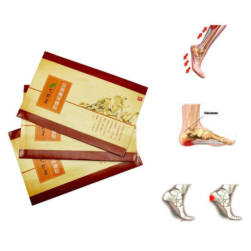2 Piece Heel Pain Relief Foot Patch Chinese Herbal