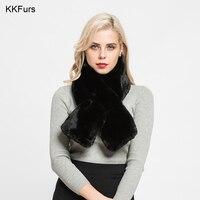 KKFurs Women's Faux Fur Scarf Winter Warm Shawls Mufflers Fashion Style Top Quality Wholesale / Retail S7143