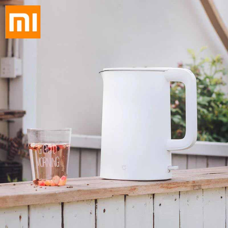 Xiaomi Mijia 1.5L Electric Kettle Kitchen Water Kettle Samovar 1.5L Thermal Insulation Teapot Wired Kettle