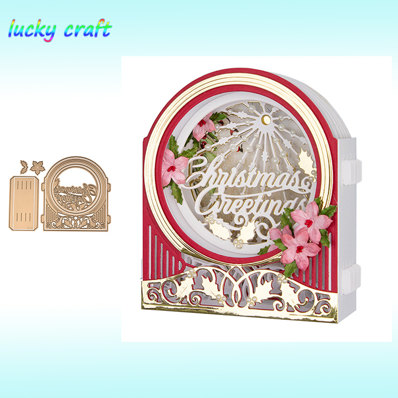 Luck YCraft Merry Christmas collection Metal Cutting Dies for DIY Scrapbooking Embossing Paper Cards Making Crafts Dies Cut 2019 in Cutting Dies from Home Garden