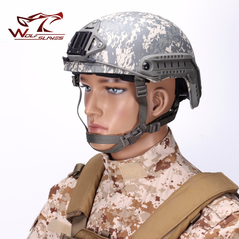 FMA FAST MH Tactical Helmet Military Airsoft Head Protector Paintball Gear ACU Digital Camouflage Wargame Hunting Acceossories military tactical helmet airsoft paintball sports gear head protector and hunting with night vision sport camera mount