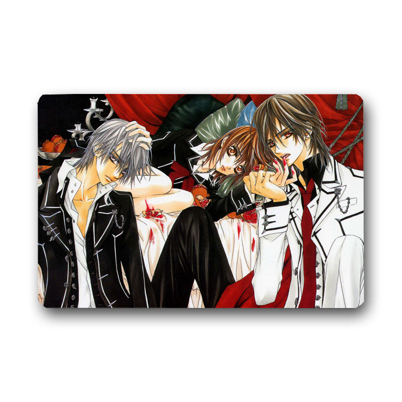 Vampire Knight Printed Floor Carpet Bathroom Kitchen Entrance 40X60cm/50X80cm Non-slip Door Mat Indoor Outdoor Rugs