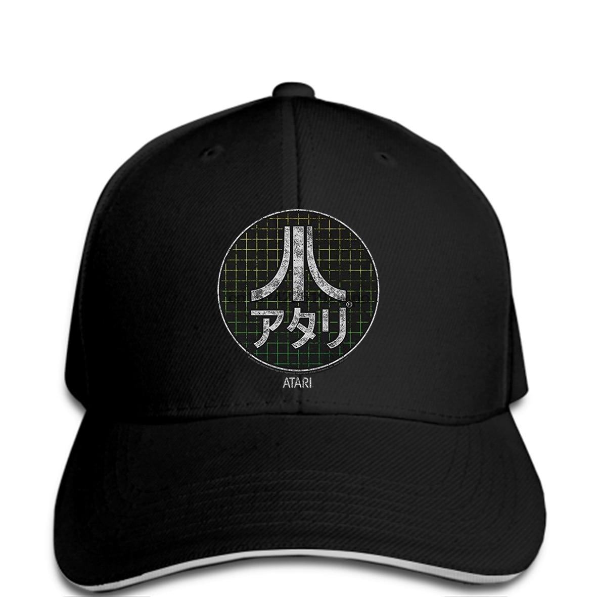 Detail Feedback Questions about Baseball cap Men funny Atari Video Game  Japanese Grid Mens cap Black on Aliexpress.com  18f14acc8b5