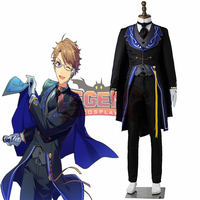 Ensemble stars Arashi Narukami cosplay costume Glass Admiration Full Render Bloomed costume