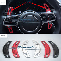2pcs/lot for For Porsche 911 997 996 Panamera Cayenne macan boxster Aluminum alloy Steering Wheel Shift Paddle Shifter Extension