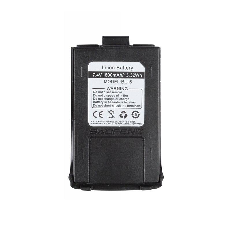 7.4 v 1800 mah Li-ion Batterie pour 2015 Baofeng GT-3/GT-3TP MarkII et MarkIII Ham Two-way Radio talkie Walkie