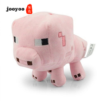 Cotton Plush Toys 15 cm Pink Baby Pig Plush Toy Soft Stuffed Animals Toys for Kids Children Gift jooyoo