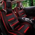Carro Tampa Seart TAPETES de Pele de Alta-Grade Almofada Suprimentos Preservativo Assento Interior Acessórios, Estilo Do Carro, Assento Inverno esteiras Para BMW Audi