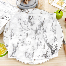 10pcs Hot silver Marble soft healthy decoupage napkin paper 100% virgin wood tissue for Christmas wedding party decorat цена и фото