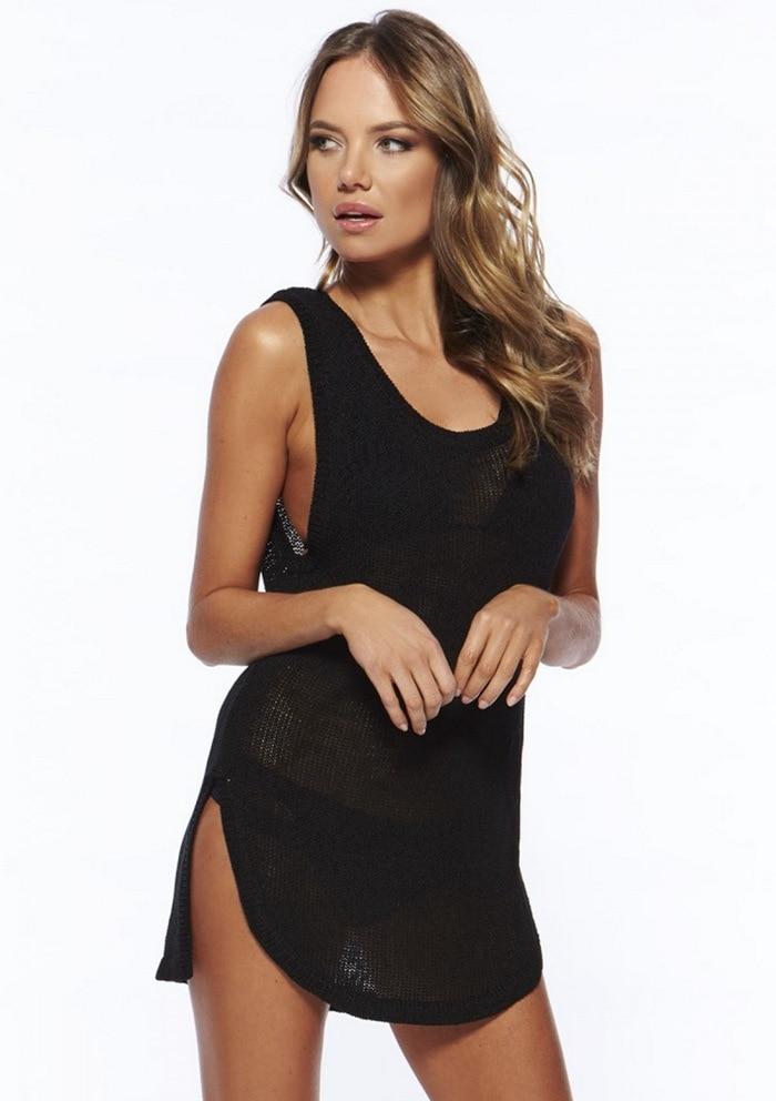 Жіноча сексуальна в'язана пляжна - Спортивний одяг та аксесуари - фото 3