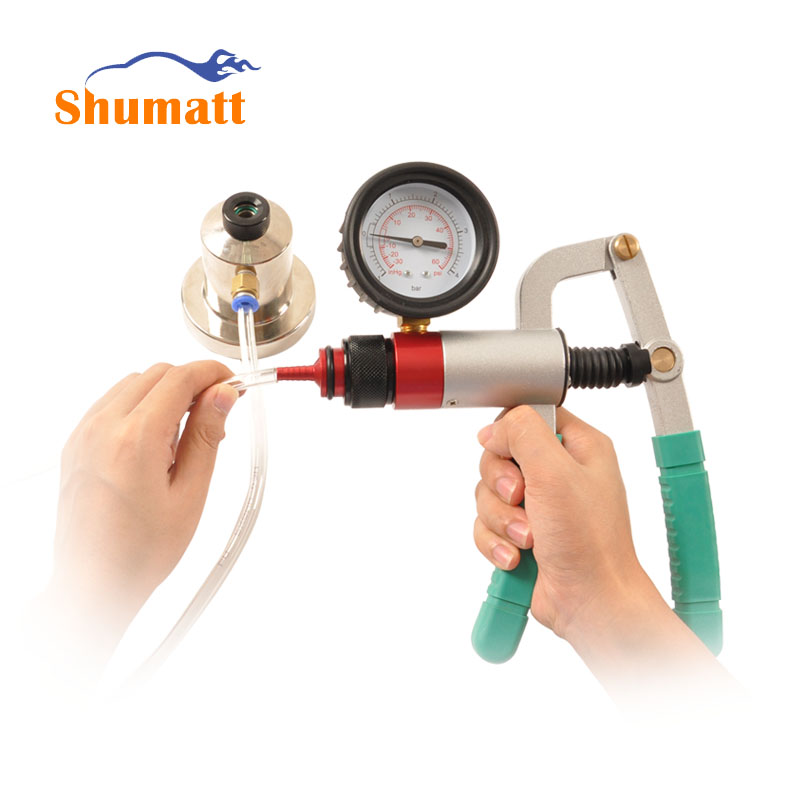 Auto Diesel Common Rail Injectors Valve Assembly Leakage Pressure Tester Gauge Sealing Diagnostic Repair Tools