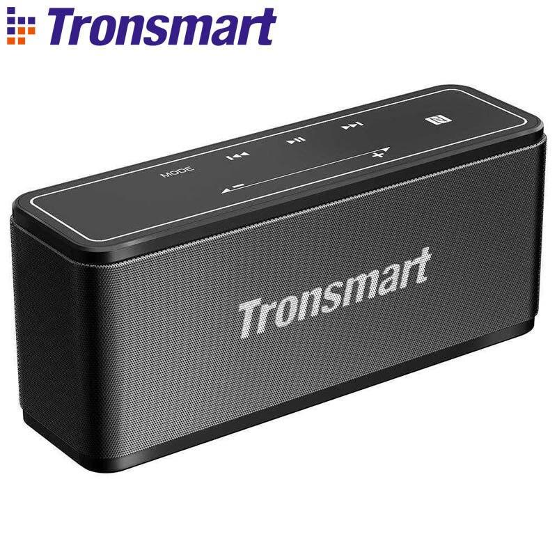 Tronsmart Élément Mega Extérieur Portable Bluetooth Haut-Parleur Tactile Panneau 3D Numérique Son Téléphone Sans Fil Haut-parleurs Prend En Charge NFC
