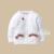 Novo 2016 primavera e outono crianças cardigan para meninas de malha de algodão do bebê menina princesa malha camisa casacos