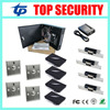 Four Doors Access Control System Zk Card Access Control For 4 Doors With Exit Button Electric
