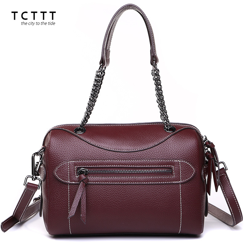 TCTTT HOT SALE! Litchi Pattern Soft crossbody bag genuine leather shoulder Handbag for women's Fashion Female Messenger tote bag hot sale open front geometry pattern batwing winter loose cloak coat poncho cape for women