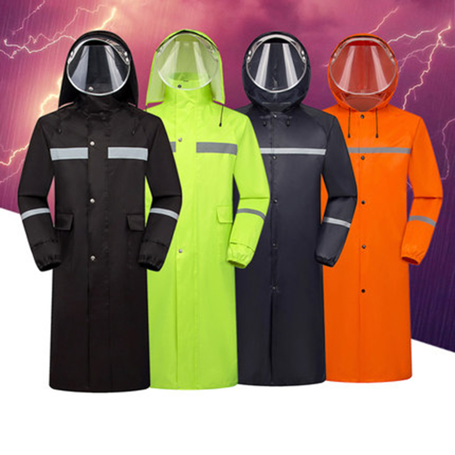 Rainstorm Outdoor Raincoat Long Overalls Waterproof Poncho Men Women Adult Fashion Impermeable Long Waterproof Coats For Men R6