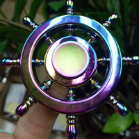LeadingStar EDC Hand Spinning Toy Fancy Shape Fidget Spinner Stress Anxiety Reducer for ADD ADHD Relief Gift