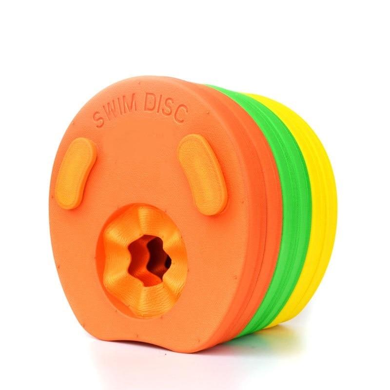 19.5x18.5x2.5cm Kids Swim Ring Swimmer Discs EVA Foam Arm Bands Armbands Float For Swimming Float For Kids Children
