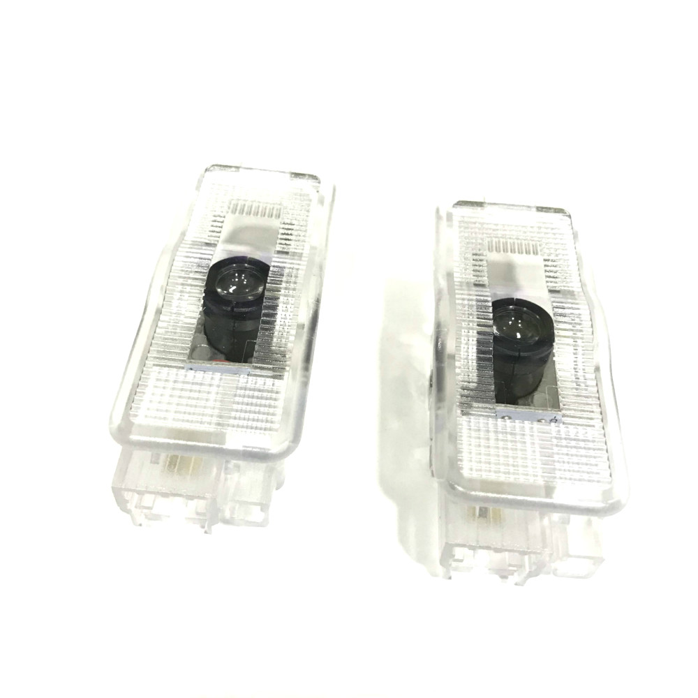JURUS 2Pcs For PEUGEOT 407 408 508 RCZ 1007 3008 Car LED Door Welcome Logo Led Lights Laser Shadow Projector Light Accessories