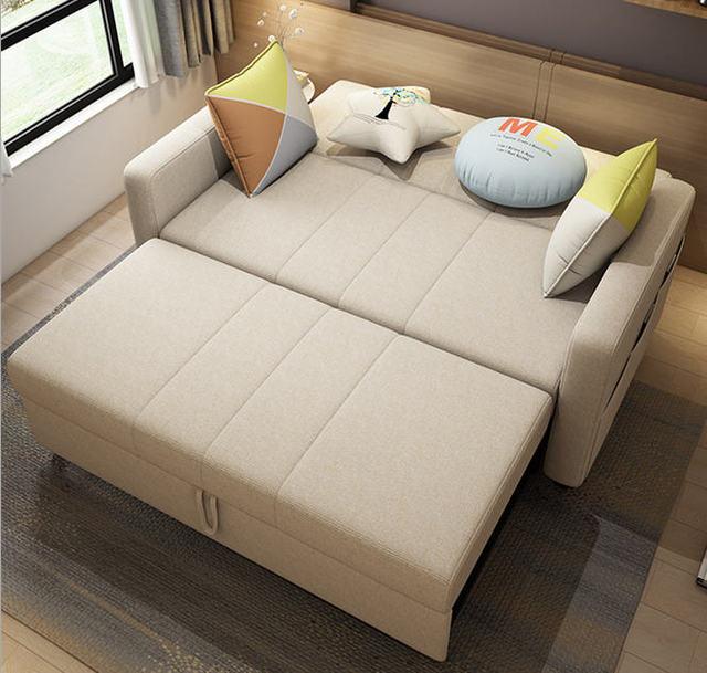 linen hemp fabric sectional sofas  Living Room Sofa set furniture alon couch puff asiento muebles de sala canape sofa bed cama 6