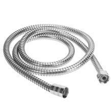 Double Lock Brass Connector Stainless Steel Hose Handheld Shower Head Hose Waterproof Layer for Bathroom Garden