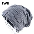 2017 Boy winter knitted hat beanies hats for men beanie wool cap skullies men casual warm plaid bonnet caps bone gorro masculino