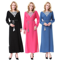 Islamic Clothing For Women Muslim Abaya Dress Beading Design Modest Jilbabs And Abayas Kaftan Dress Green
