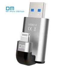 Livraison Gratuite DM APD003 USB3.0 Haute-vitesse Flash Drives 32G 64G 128G D'extension de Capacité Pour iPhone, ipadAir/Air2, Mini/2/3 Mac PC