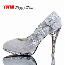 2020 Colorful Wedding Shoes Women Pumps Sexy Ladies Super High Heels