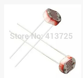 1000PCS/lot free shipping Photosensitive resistance 5528 photoelectric switch components ...